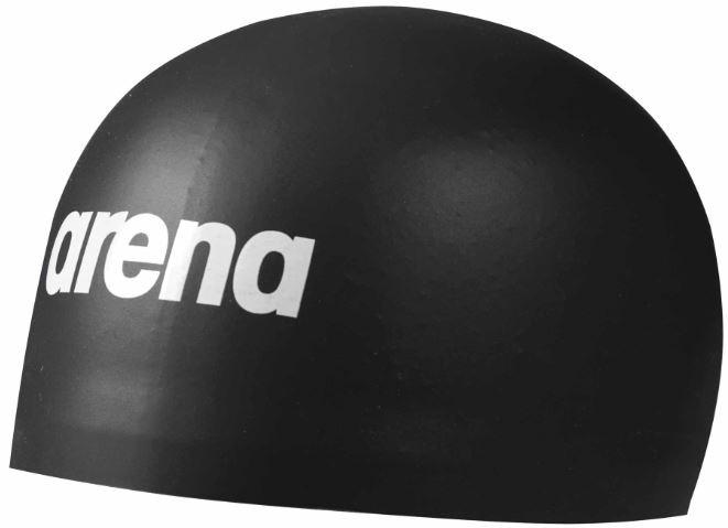 Plavecká čepice Arena 3D soft černá.