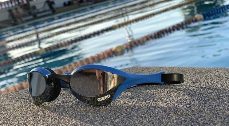 Plavecké brýle Arena Cobra Ultra Swipe Mirror modré