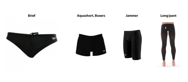 5971b9aecf A férfiaknál megkülönböztetjük a férfi úszónadrágot a szabása vagy a  nadrághossza alapján. Lehet klasszikus fecske vagy nadrág nélküli (Brief),  rövid nadrág ...