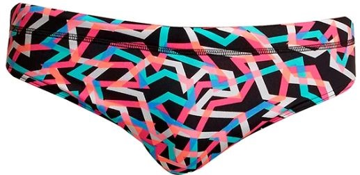 Pánské slipové plavky v růžové barvě Funky Trunks Streamer brief 2020.