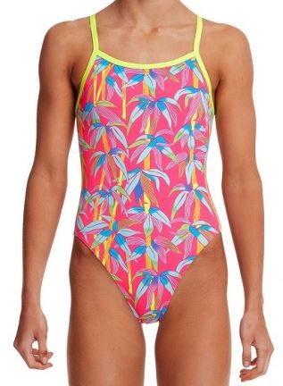 Dámské barevné plavky Funkita Bae Boo z kolekce 2020.