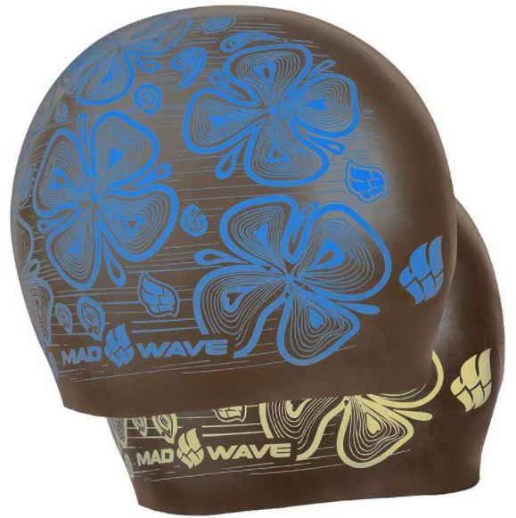 Plavecká silikonová čepice unisex oboustranná Mad Wave Reverse Flora