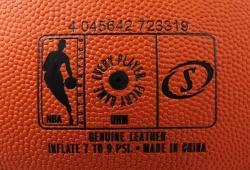 Basketbalový míč Spalding Leather NBA Game Ball