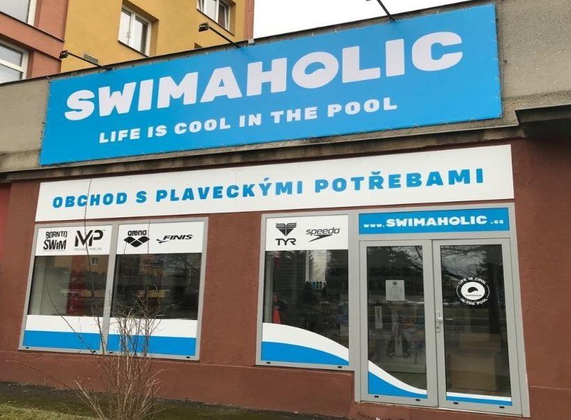 Prodejna Swimaholic v Plzni