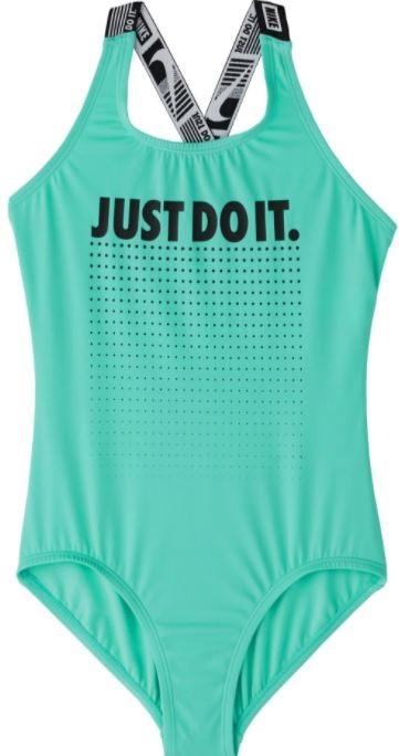 Juniorské plavky jednodílné Nike ve slevě