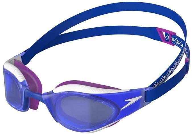 Závodní modré plavecké brýle Speedo Fastskin Hyper Elite