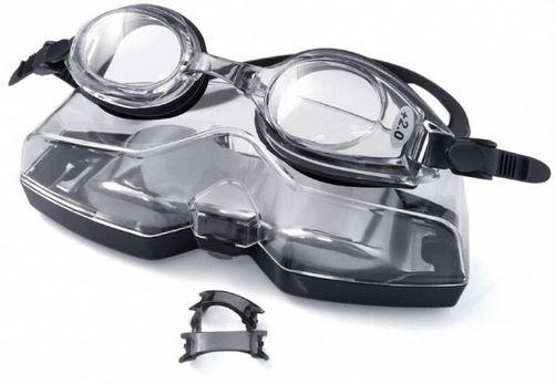 Plusové plavecké dioptrické brýle