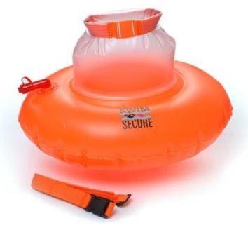Swimming buoy Swim secure tow donut orange