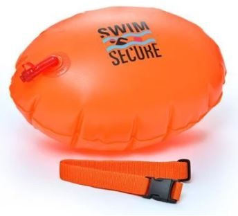 Swimming buoy Swim secure tow float orange