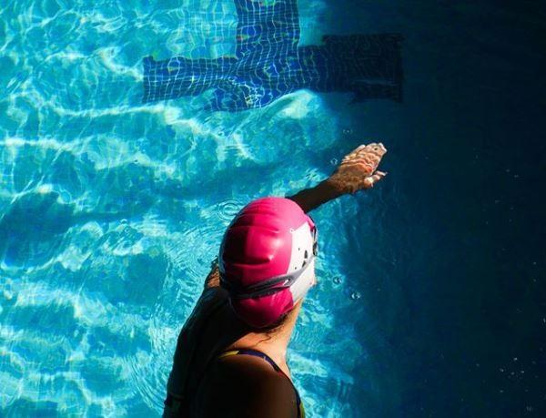 Plavecká silikonová čepice Funkita růžová