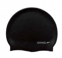 Plavecká čepička Speedo Plain Flat Silicon Cap