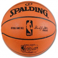 Spalding Leather NBA Game Ball