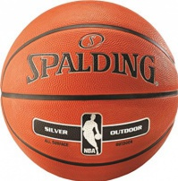 Basketbalový míč Spalding NBA Silver Outdoor
