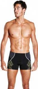 Speedo Fit Panel Aquashort black/yellow