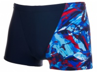 Speedo Allover V Aquashort blue