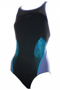 Speedo Fit Splice Xback black/grey
