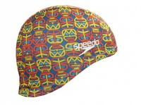 Speedo Polyester Printed Cap Junior