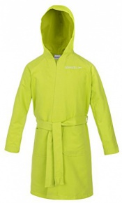 Speedo Bathrobe Microfiber Apple Green