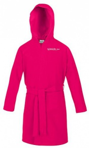 Speedo Bathrobe Microfiber Pink