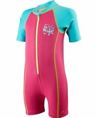 Speedo Seasquad Hot Tot Suit Pink
