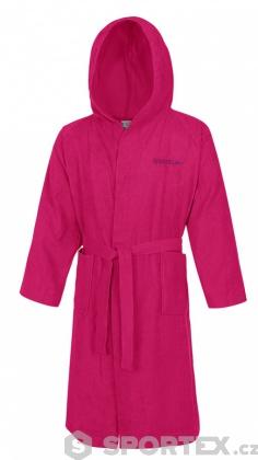 Speedo Bathrobe Microterry Pink