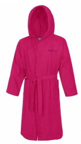 Speedo Bathrobe Microterry Pink