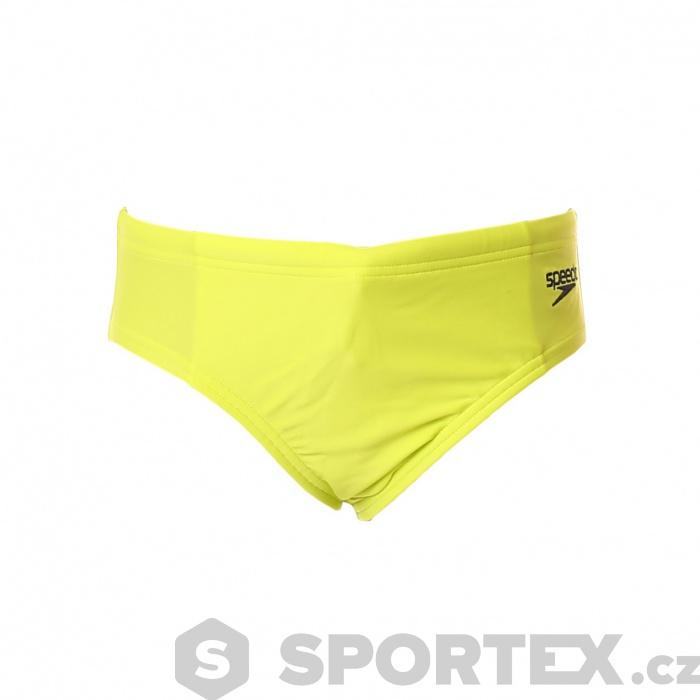 881f80411a Speedo Essential Boys Logo Brief Lime Punch