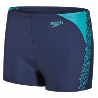 Speedo Boom Splice Aquashort Junior Navy/Jade