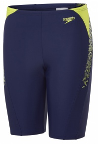 Speedo Boom Splice Jammer Junior Navy/Lime