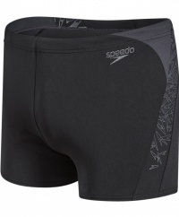 Speedo Boom Splice Aquashort Black/Grey