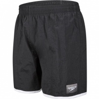 Speedo Colour 8lock 16 Watershort Black/White