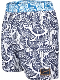 Speedo Vintage Printed 16 Watershort Navy/White