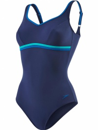 Speedo AquaJewel 1 Piece Navy/Jade