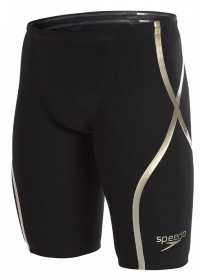 Speedo Fastkin LZR Racer X High Waist Jammer Black/Gold