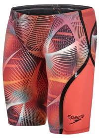 Speedo Fastskin LZR Racer X High Waist Jammer Lava Red/Electric Pink