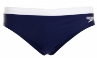 Speedo Essential Logo 7cm Brief Navy/White