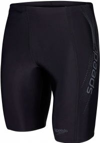 Speedo Sports Logo Jammer Black