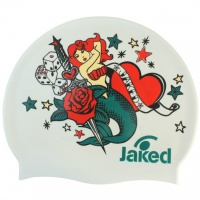 Jaked Rock and Roll swim cap