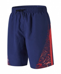 Speedo Boom Yoke Splice 18 Watershort Navy/Red
