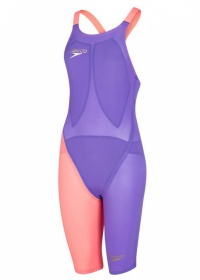 Speedo Fastskin LZR Racer Elite 2 Closedback Kneeskin Violet/Red