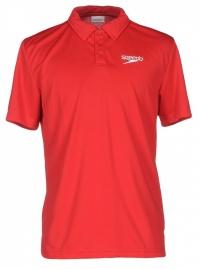 Speedo Polo Shirt Flag Red