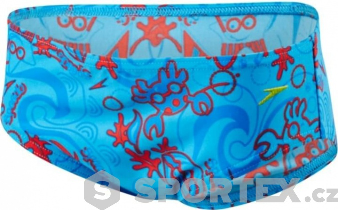 Speedo Seasquad Brief Blue