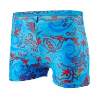 Speedo Seasquad Allover Aquashort Blue