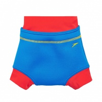 Speedo Swimnappy Cover Blue/Red