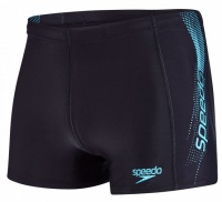 Speedo Sports Logo Aquashort Black/Turquoise