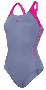 Speedo Boom Splice Muscleback Grey/Pink
