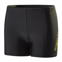 Speedo Gala Logo Panel Aquashort Boy Black/Citron