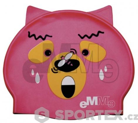 Dětská plavecká čepička Emme medvěd s vosou