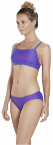 Speedo Boom Allover 2 Piece Ultramarine/Diva