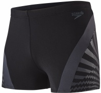 Speedo Chevron Splice Aquashort Black/Oxid Grey
